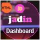 Jadin - Responsive Bootstrap 4 Admin Dashboard Template