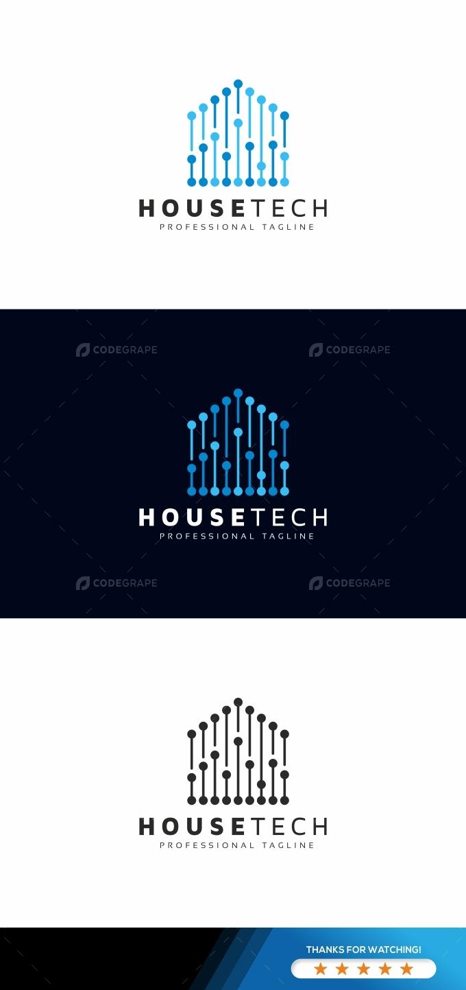 House Tech Digital Logo