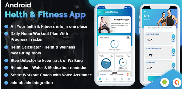 Workout Manager & Health Calculator for Fitness