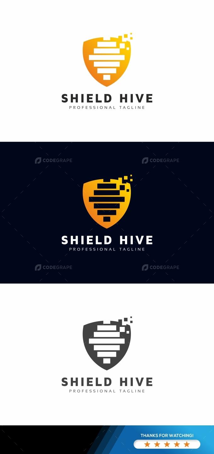 Hive Shield Logo