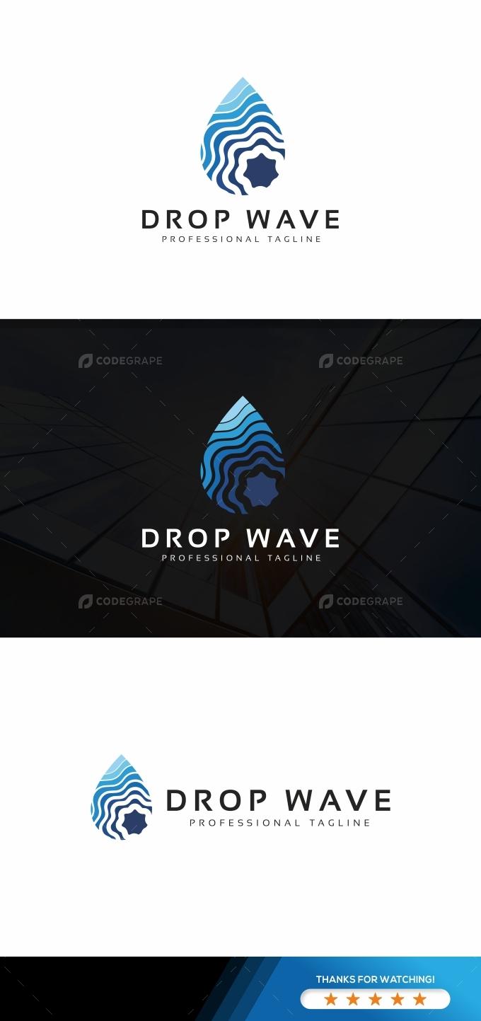 Drop Wave Logo