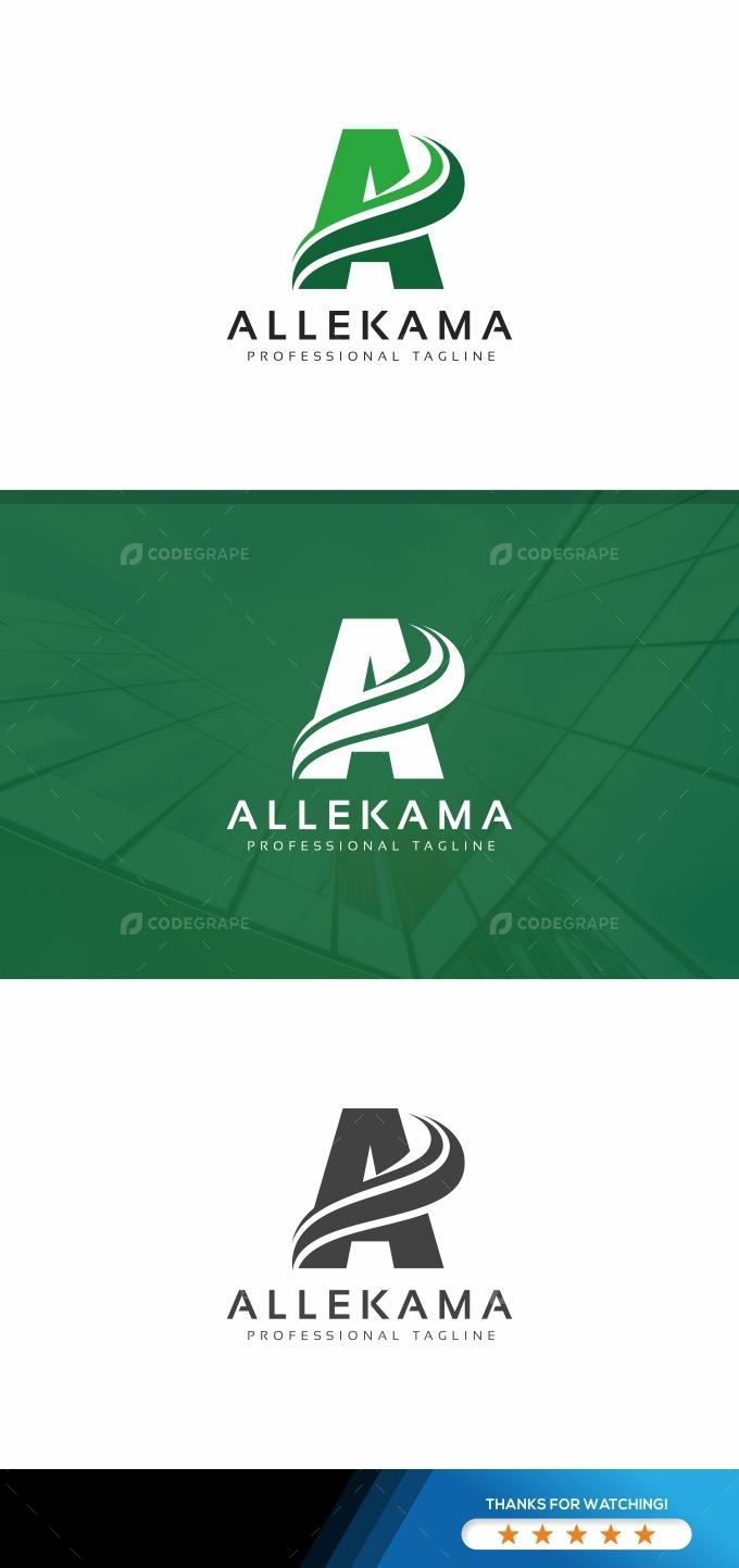 Allekama A Letter Logo