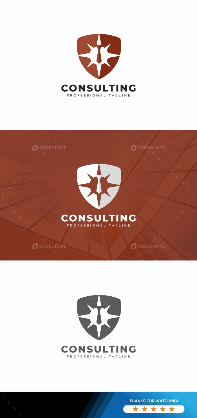 Consulting Shield Logo