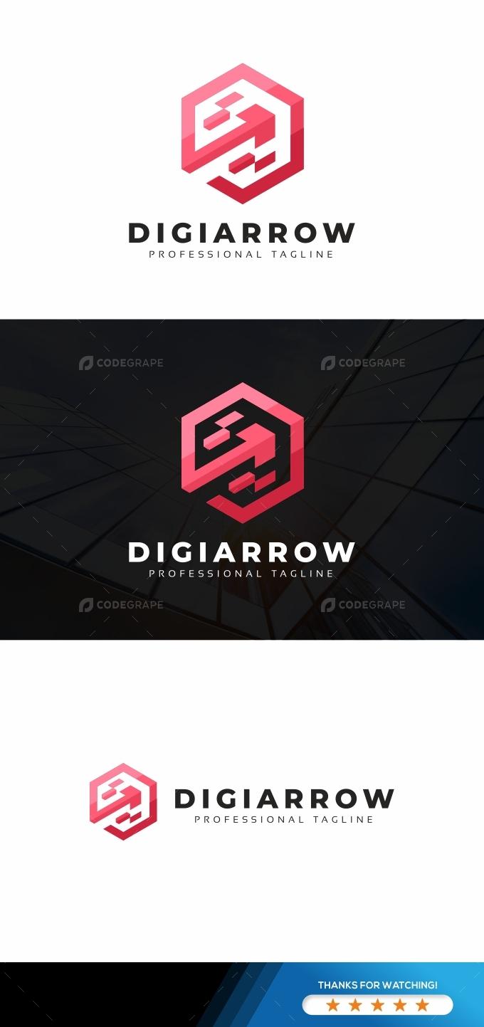 Digital Arrows Logo