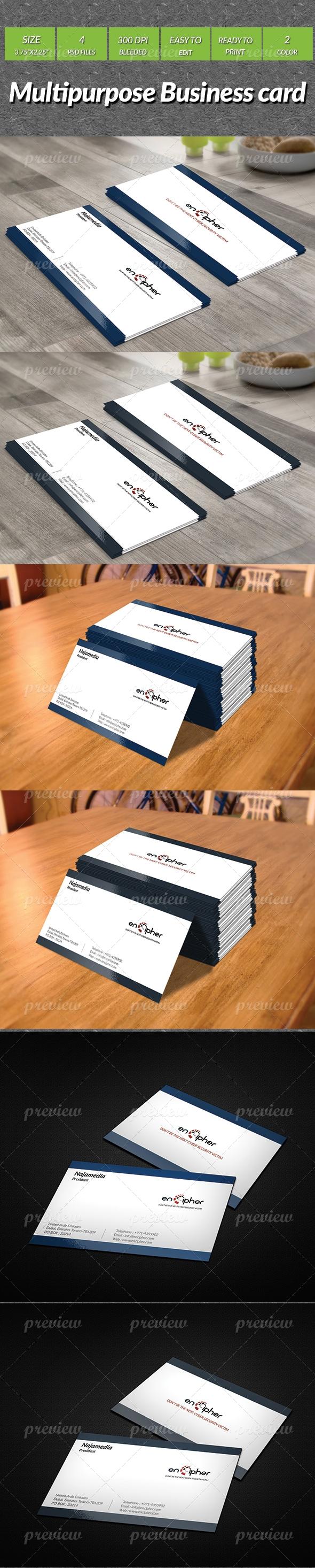 Multipurpose Business Card 4