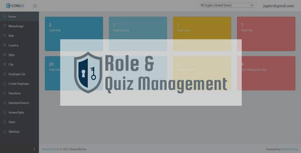 Quiz Management In Dot Net MVC