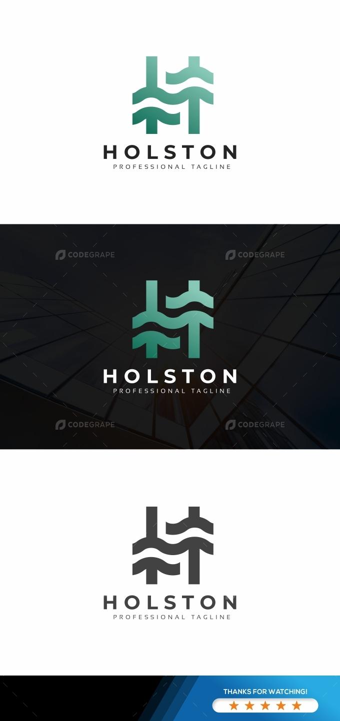 Holston H Letter Logo