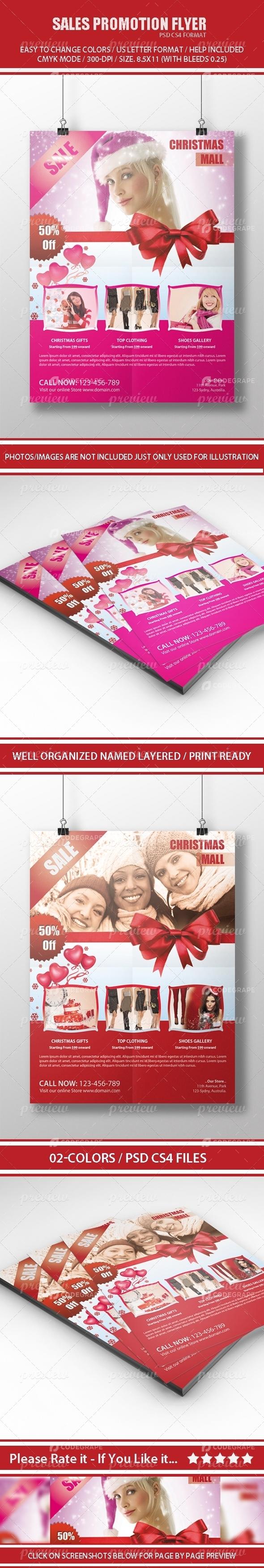 Sales Promotion Flyer
