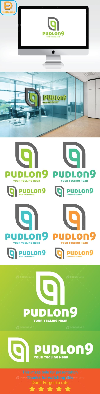 9 Number Logo