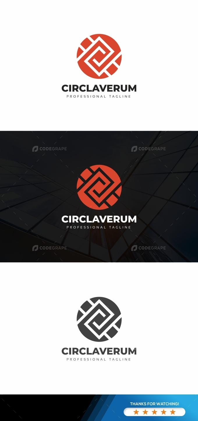 Circle Tech Modern Logo