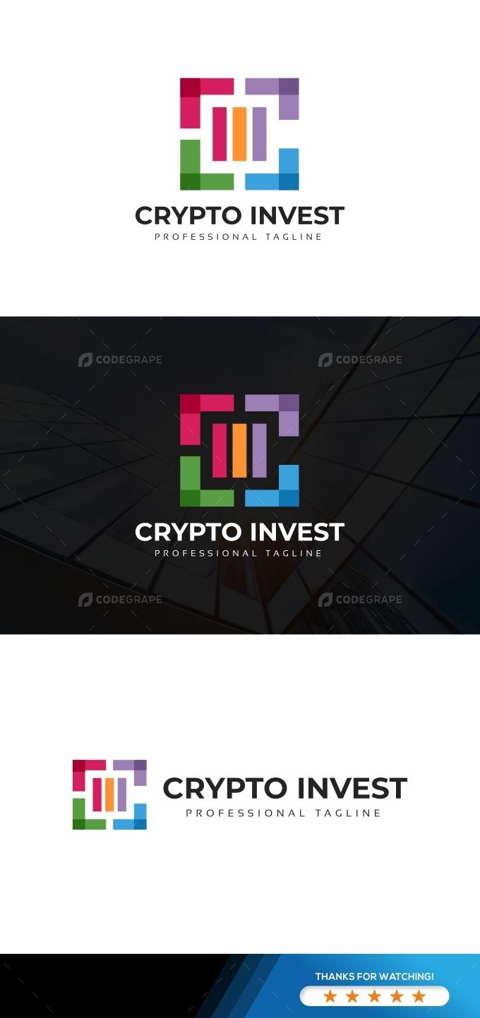 Crypto Invest C Letter Logo