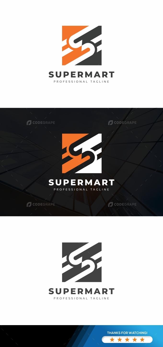 S Letter Digital Logo
