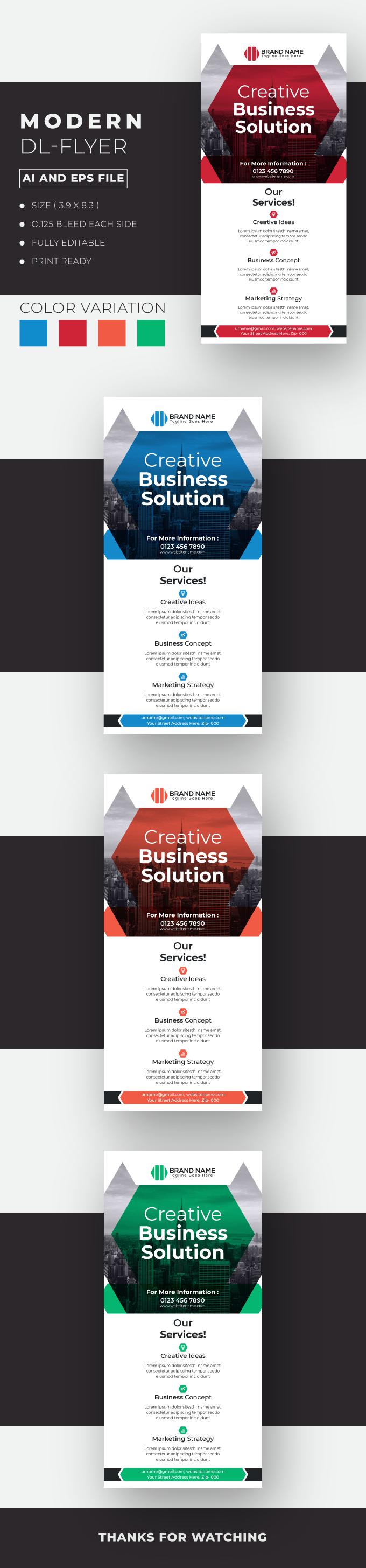 Modern Business DL-Flyer