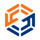 S Letter Hexagon Connect Logo