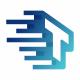 T Letter Digital Logo