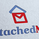 Attached Mail Logo Template