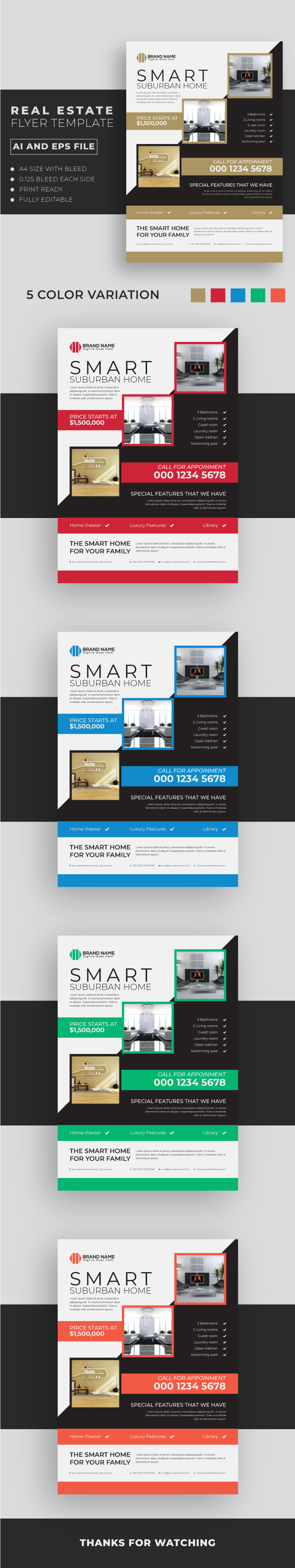 Real Estate Flyer Template 2