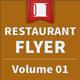 Restaurant Flyer - Coffee / Breakfast - Volume 01
