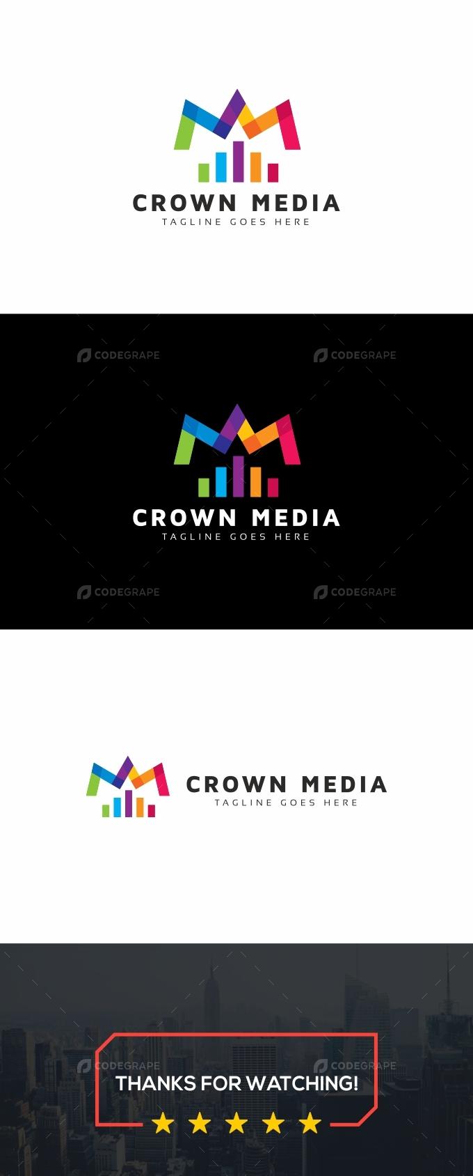 Crown Media Logo