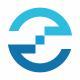 E Letter Circle Tech Logo