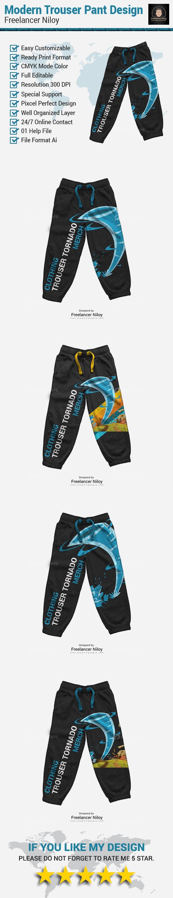 Modern Trouser Pant Design