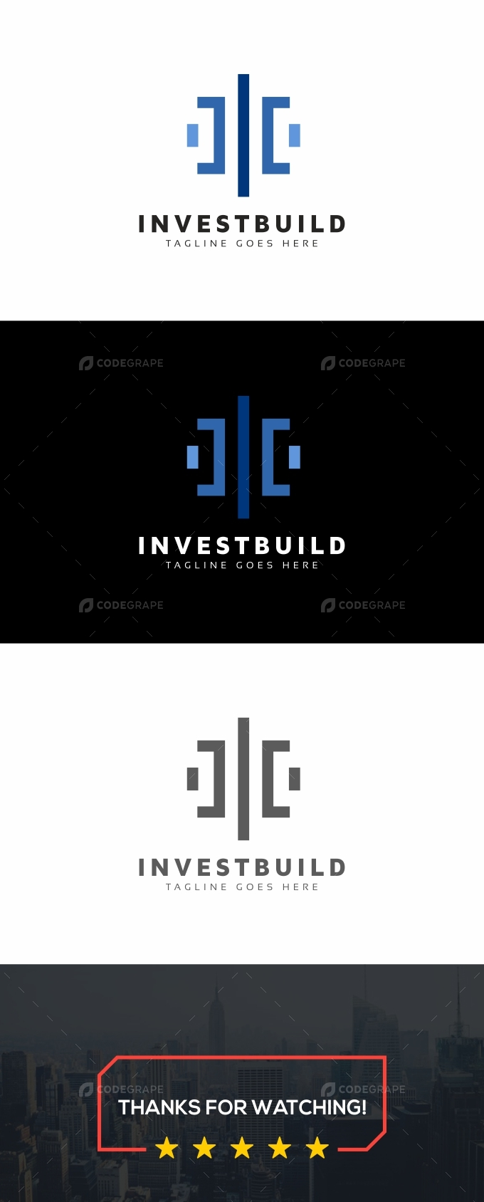 Invest Build Logo