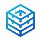Server Box Blue Logo