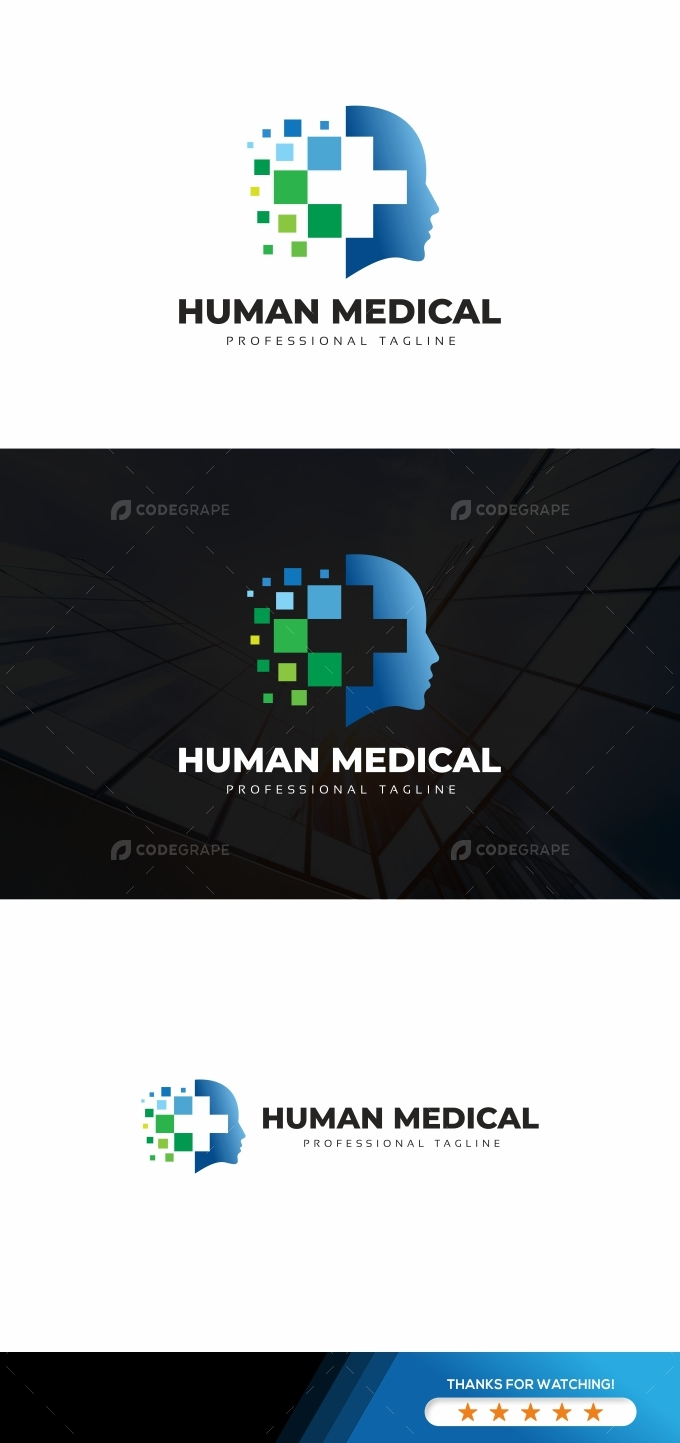 Human Medical Logo