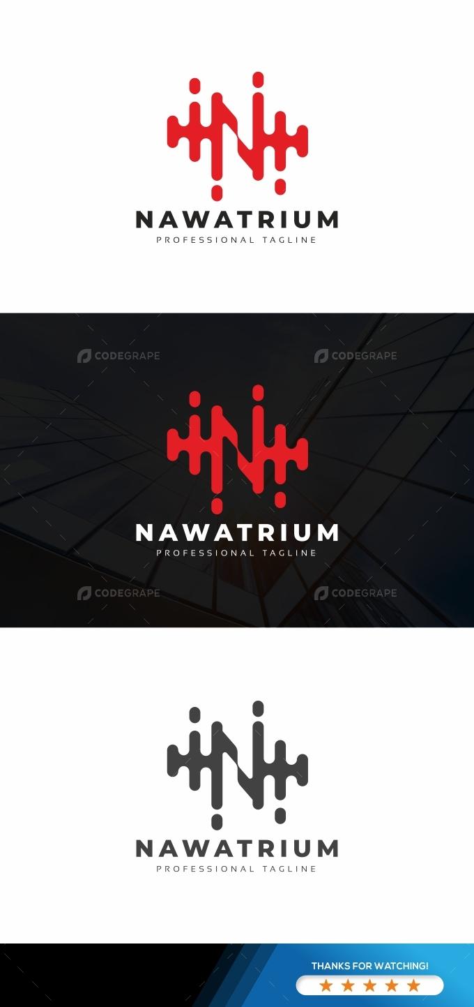 N Letter Technology Logo