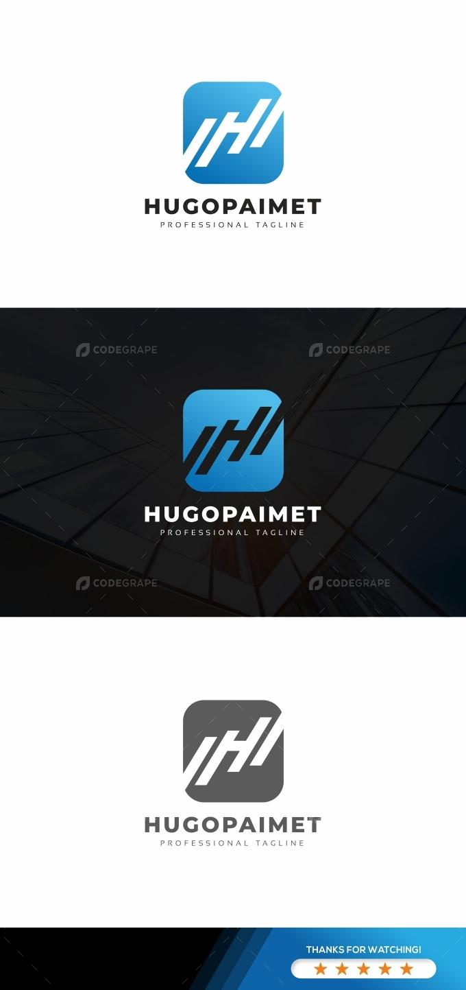 Hugopaimet H Letter Logo