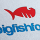 Big Fish Food Logo Template