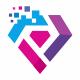 Diamond Tech Pixel Logo