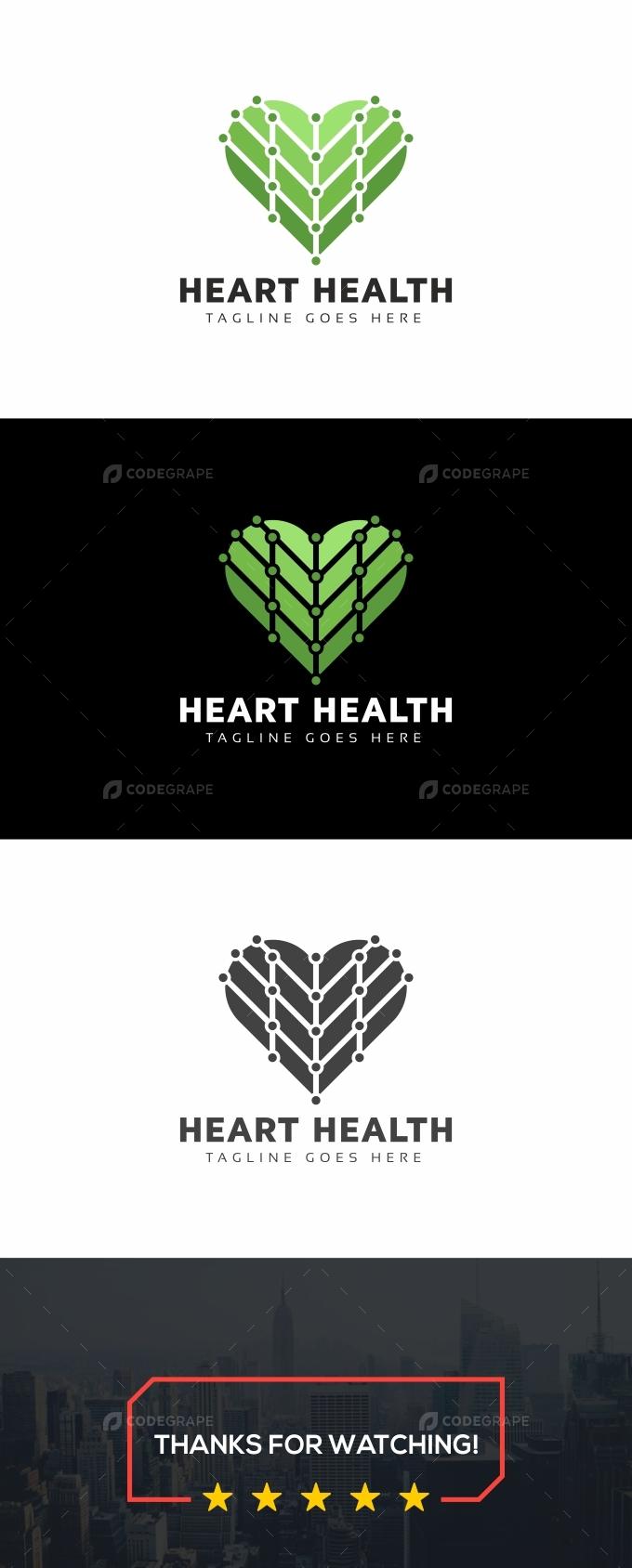 Heart Health Green Logo