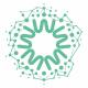 Abstract Circle Molecular Logo