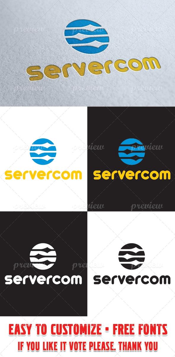 Server Command Logo Template