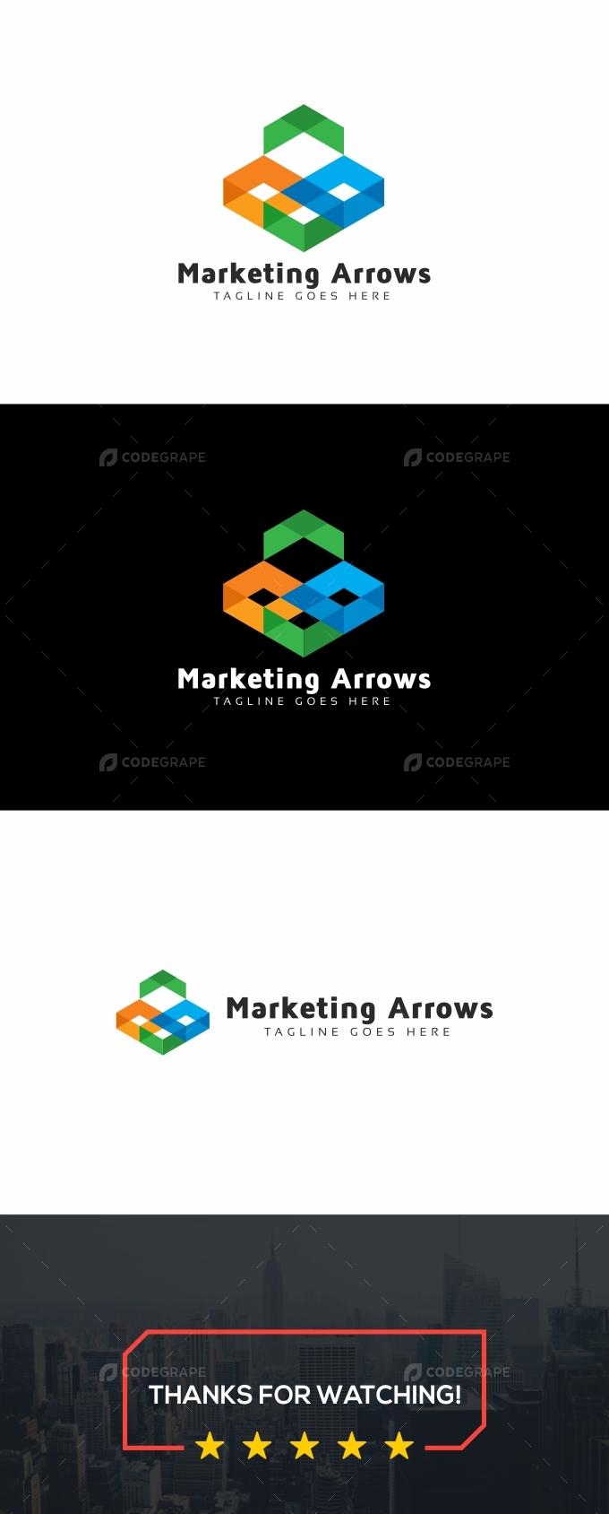 Marketing Arrows Logo