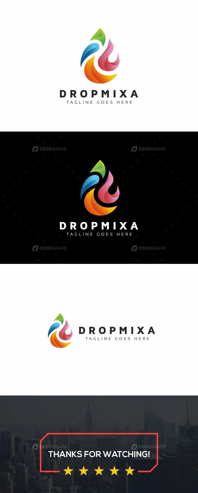 Drop Colorful Logo