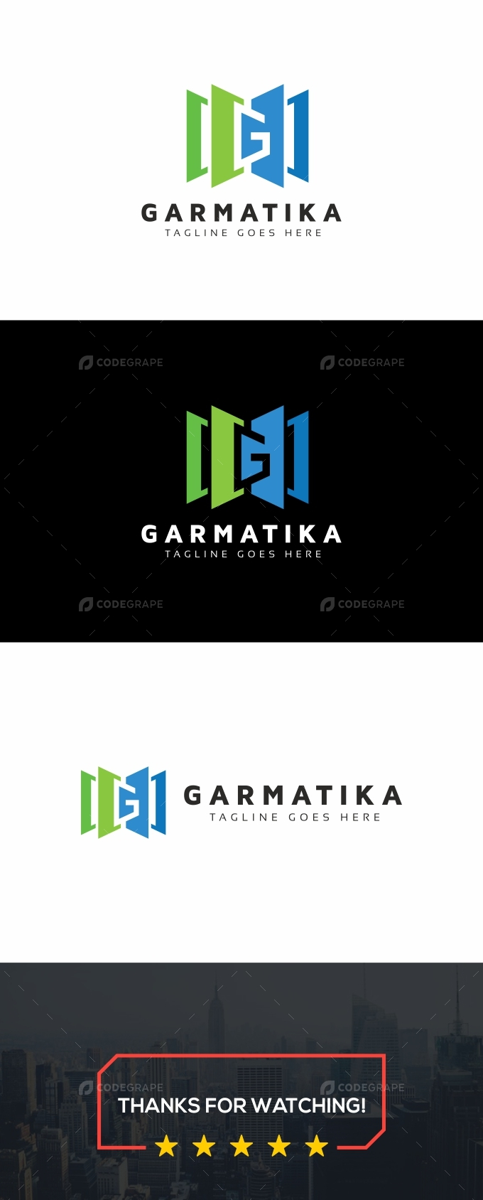 Garmatika G Letter Logo