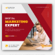 Corporate Digital Marketing Social Media Banner Post Template