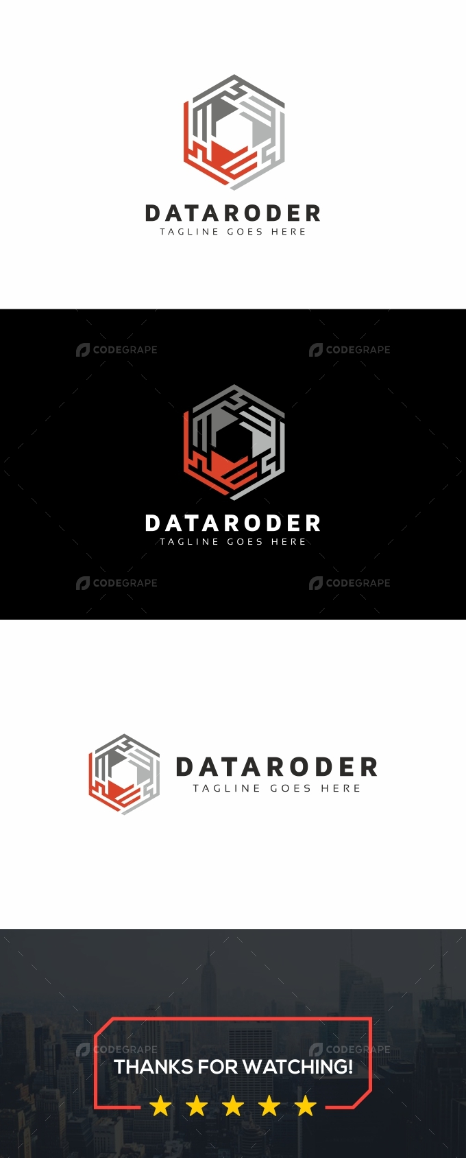 Data Hexagon Logo