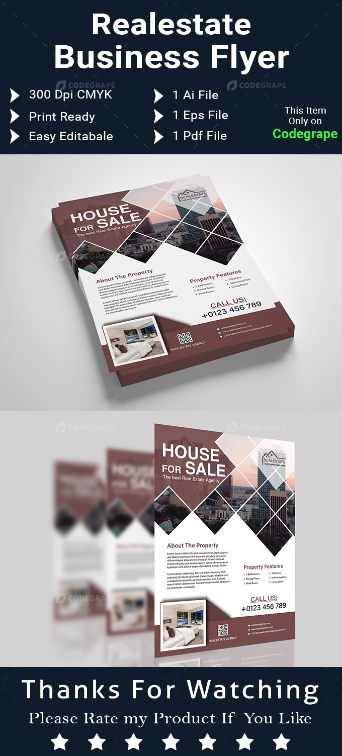 Realestate Business Flyer