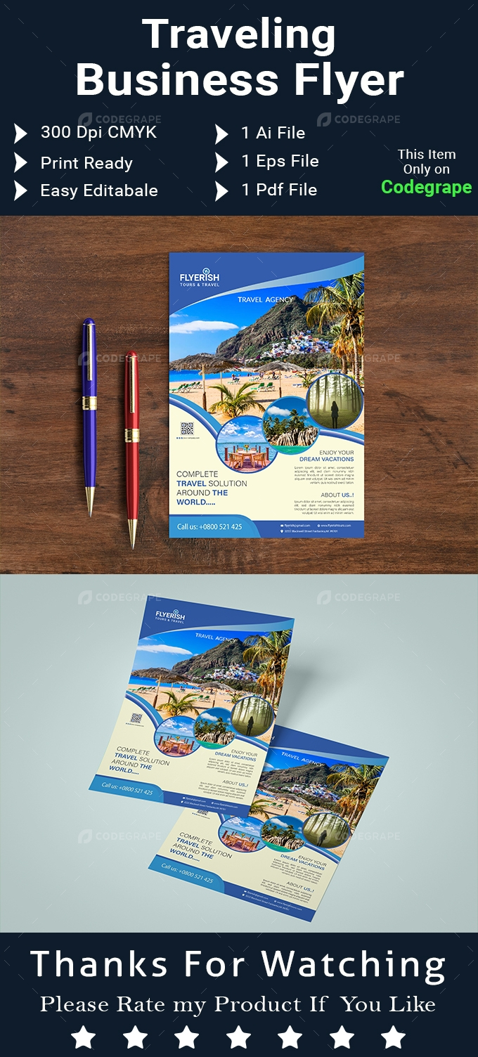 Traveling Business Flyer