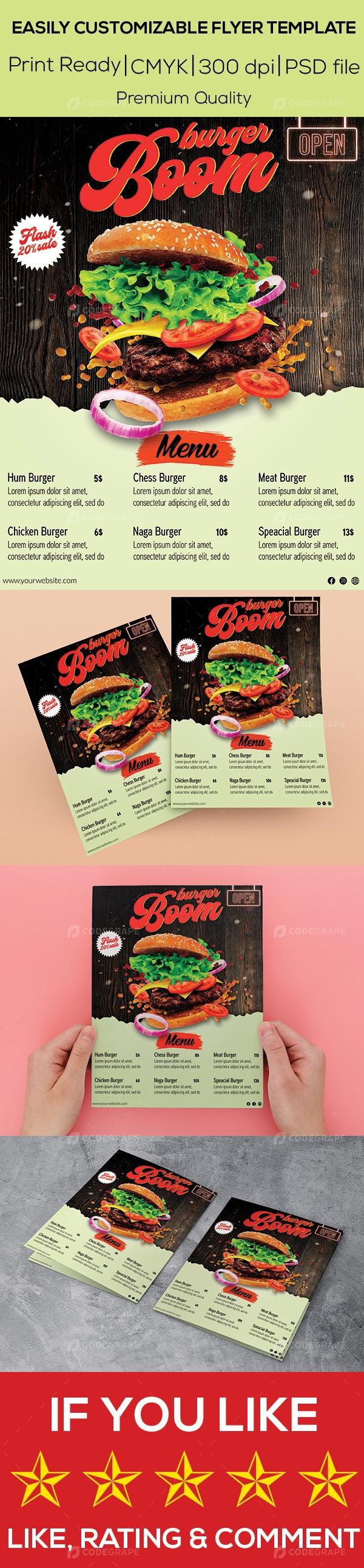 Restaurant Flyer Design