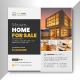 Modern Real Estate Social Media Post Banner Ads Template