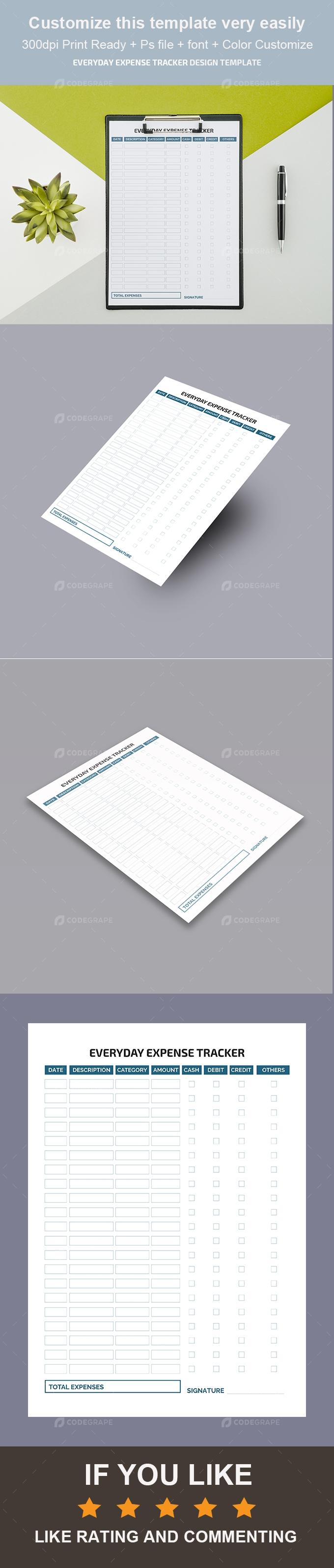 Corporate Everyday Expense Tracker