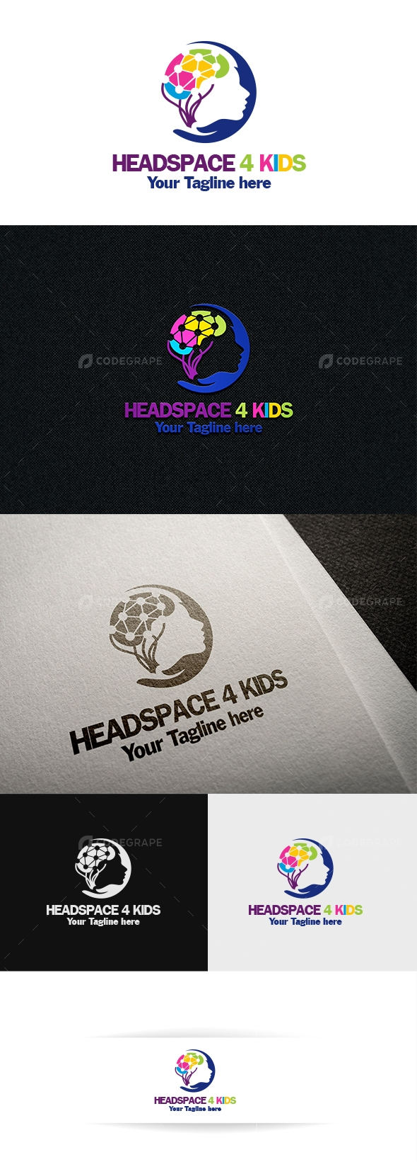 Headspace 4 Kids - Brain Physiotherapy Logo