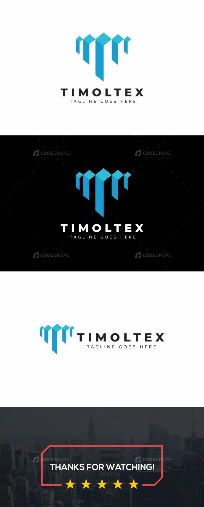 Timoltex T Letter Logo