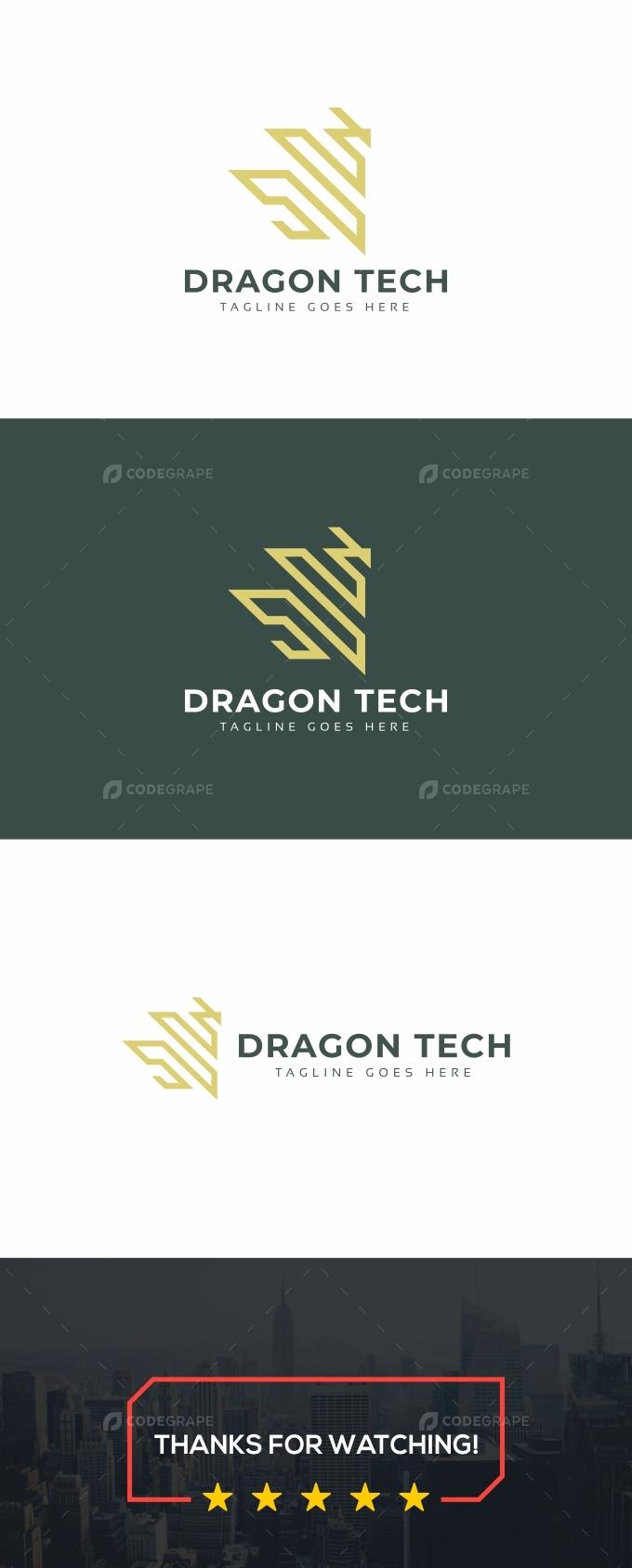 Dragon Tech Logo