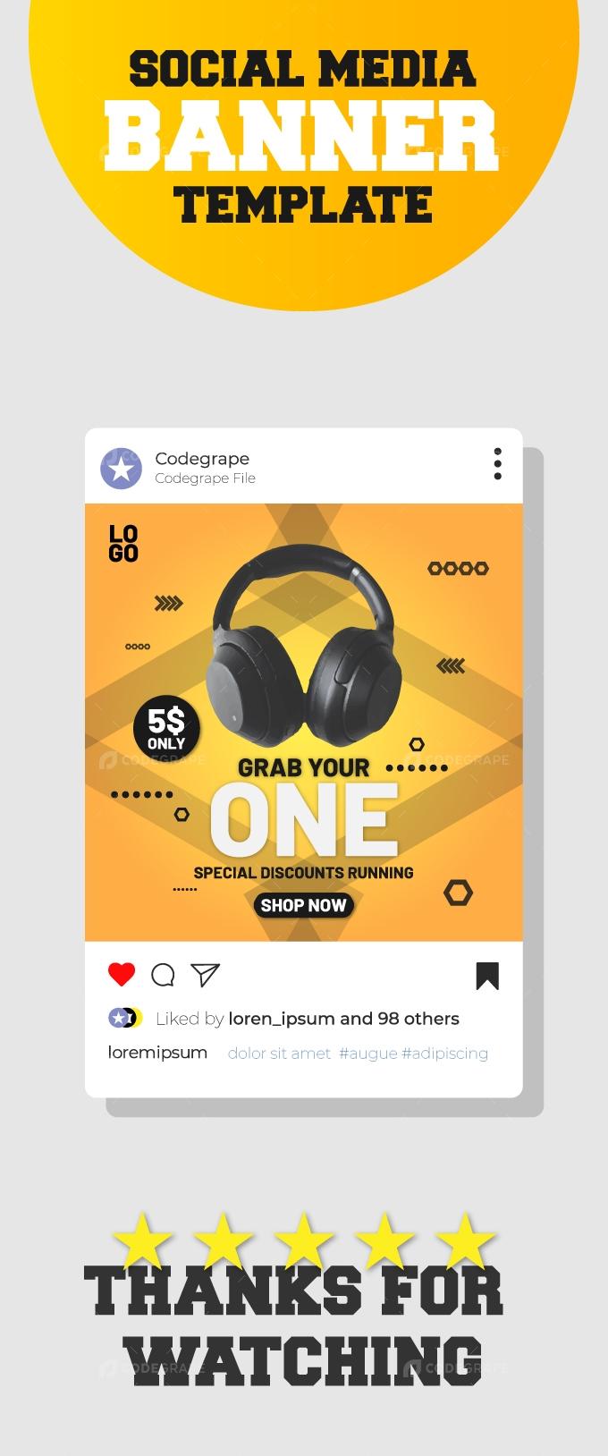 Gadgets Sale Social Media Banner