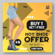 Shopping Sale Ads Banner Template